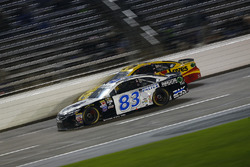 Jeffrey Earnhardt, BK Racing, Toyota; Chris Buescher, Front Row Motorsports, Ford