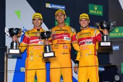 Podium LMP2: second place #30 Extreme Speed Motorsports Ligier JS P2 Nissan: Antonio Giovinazzi, Sea