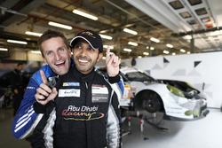 #78 KCMG Porsche 911 RSR: Christian Ried and #88 Proton Competition Porsche 911 RSR: Khaled Al Qubaisi