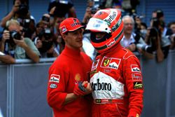Michael Schumacher, Ferrari, Eddi Irvine, Ferrari