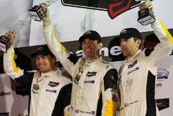 GT Le Mans Podium: third place #4 Corvette Racing Chevrolet Corvette C7.R: Oliver Gavin, Tommy Milner, Marcel Fässler