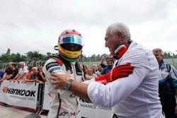 Lance Stroll, Prema Powerteam, Dallara F312, Mercedes-Benz, mit seinem Vater