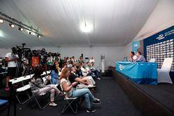Conférence de presse avec Alejandro Agag, directeur général de la Formule E, et Jean Todt, président de la FIA