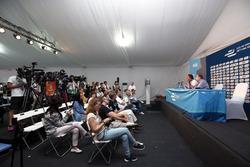 Alejandro Agag, Formula E CEO and Jean Todt, FIA Başkanı