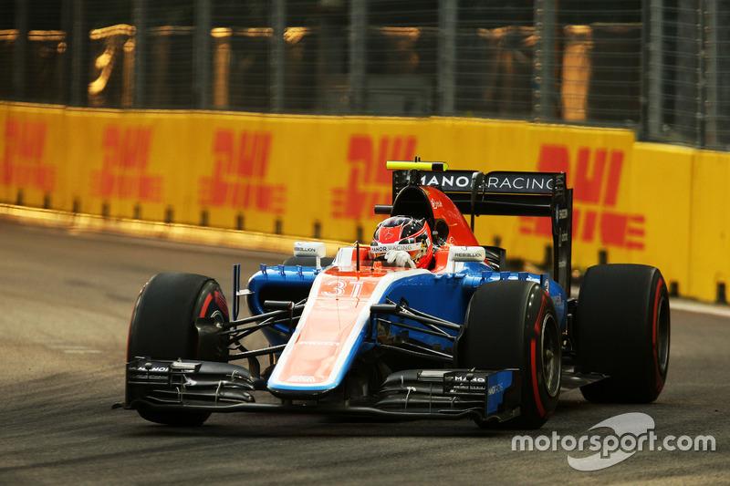 21: Esteban Ocon, Manor Racing MRT05