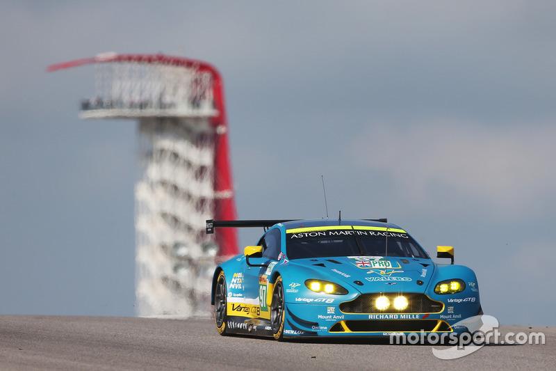 5. GTE-Pro: #97 Aston Martin Vantage GTE: Darren Turner, Fernando Rees