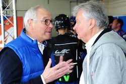 Didier Calmels, Co-propriétaire de Signatech et Bernard Ollivier, CEO d'Alpine
