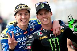 Aleix Espargaro, Team Suzuki Ecstar MotoGP and Pol Espargaro, Monster Yamaha Tech 3, Yamaha