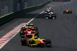 Sean Gelael, Pertamina Campos Racing leads Nabil Jeffri, Arden International