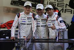 Polesitters #2 Porsche Team Porsche 919 Hybrid: Romain Dumas, Neel Jani, Marc Lieb