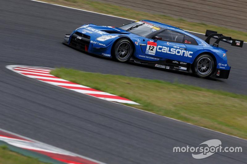 #12 Team Impul Nissan GT-R Nismo GT3: Hironobu Yasuda, Joao Paulo de Oliveira
