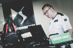 Atmosphère dans le garage DS Virgin Racing