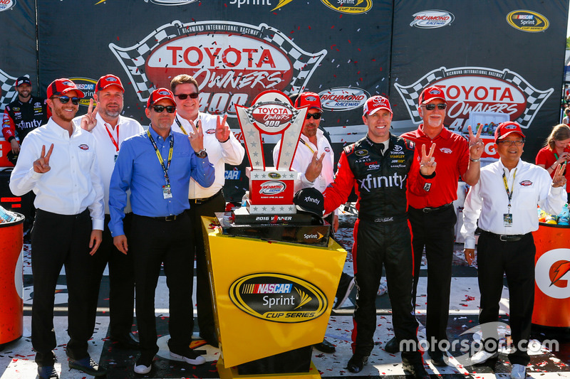 Carl Edwards, Joe Gibbs Racing Toyota race winner