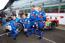 #67 Ford Chip Ganassi Racing Team UK Ford GT : Marino Franchitti, Andy Priaulx, Harry Tincknell