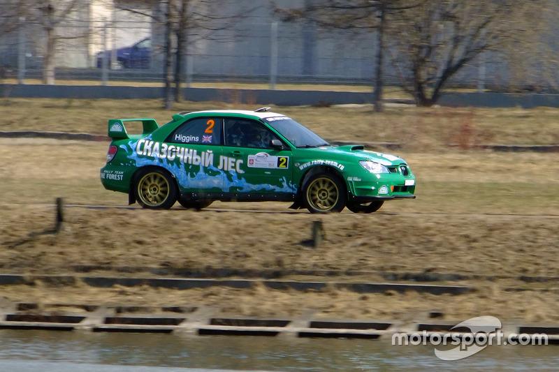 2011 год – Марк Хиггинс и Томас Иеуан, Subaru Impreza WRX STi