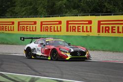 #87 AKKA ASP, Mercedes-AMG GT3: Jean-Luc Beaubelique, Maurice Ricci, Gilles Vannelet