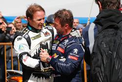 Petter Solberg, Petter Solberg World RX Team, et Sébastien Loeb, Team Peugeot Hansen