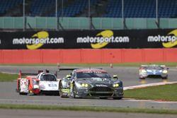 Alex MacDowall, Fernando Rees, Richie Stanaway, #99 Aston Martin Vantage V8
