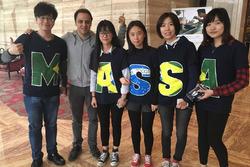 Felipe Massa con sus aficionados chinos