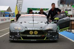 Экипаж #95 Aston Martin Racing Aston Martin Vantage