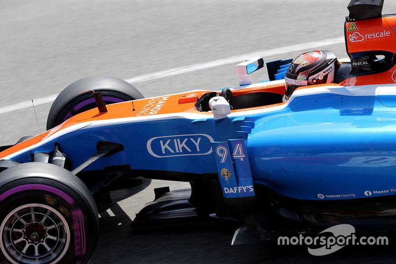 Monaco 2016 - Pascal Wehrlein, Manor