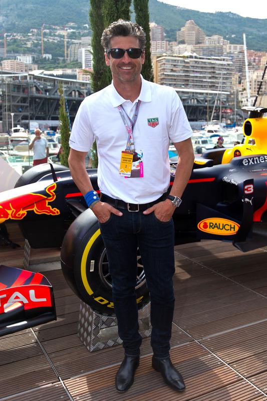 Patrick Dempsey Schauspieler Bei Formel 1 Fotos