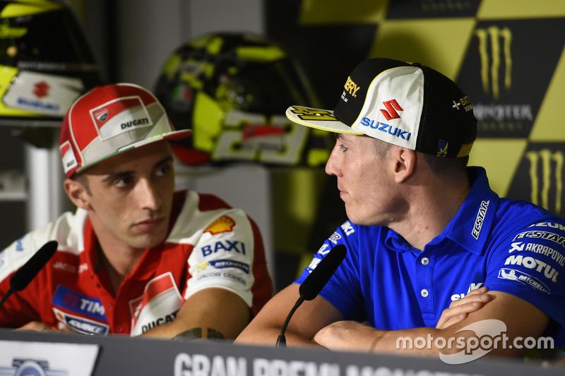 Andrea Iannone, Ducati Team, Aleix Espargaro, Team Suzuki Ecstar MotoGP