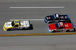 Grant Enfinger, GMS Racing Chevrolet, Timothy Peters, Red Horse Racing Toyota, William Byron, Kyle B