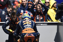 Race winner Brad Binder, Red Bull KTM Ajo