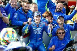Tercer lugar Maverick Viñales, Team Suzuki Ecstar MotoGP