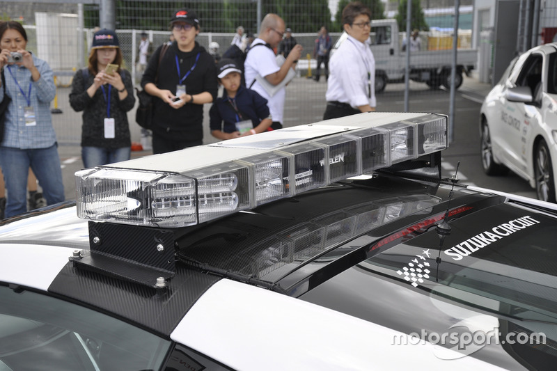 新型NSXセーフティカー(New NSX SafetyCar)
