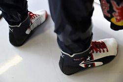 Die USA-Specialedition der Rennschuhe von Daniel Ricciardo, Red Bull Racing