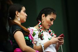 Traditionally dressed Mexicans