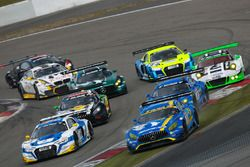 Hubert Haupt, Yelmer Buurman, Nico Bastian, Dirk Müller, Black Falcon, Mercedes- AMG GT3