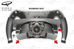 Rosberg'in 2015 direksiyonu, arka alan