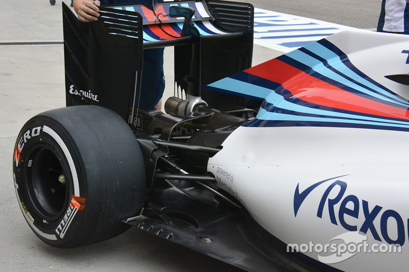 Detail Heck, Williams FW38