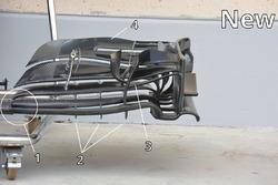 Détails de la nouvelle spécification du nouvel aileron de la McLaren MP4-31