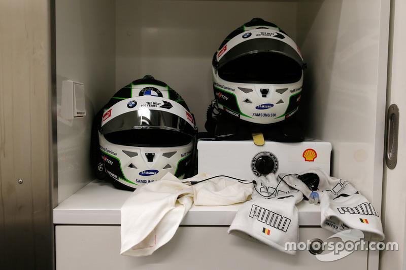 Helmet of Maxime Martin, BMW Team RBM