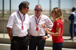 Pasquale Lattuneddu, FOM, Marcello Lotti (ITA) CEO WSC e Michela Cerruti, Mulsanne Racing, Alfa Romeo Giulietta TCR