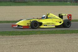 Alfredo De Matteo, Melatini Racing, esce fuori pista
