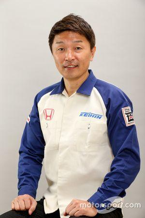Katsutomo Kaneishi, directora del equipo de Keihin Real Racing