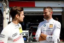 Adrien Tambay, Audi Sport Team Rosberg, Audi RS 5 DTM et Martin Tomczyk, BMW Team Schnitzer, BMW M4 DTM