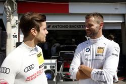 Adrien Tambay, Audi Sport Team Rosberg, Audi RS 5 DTM and Martin Tomczyk, BMW Team Schnitzer, BMW M4 DTM