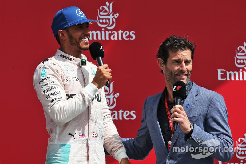 Mark Webber y Lewis Hamilton