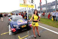 Gridgirl von Mattias Ekström, Audi Sport Team Abt Sportsline, Audi RS 5 DTM