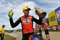 Ganador de Pro Stock Bike, Andrew Hines