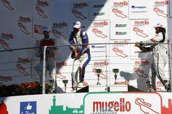 Gara 1, Podio TCR: il secondo classificato Alberto Viberti, Seat Leon Racer S.G.-TCR, il vincitore R