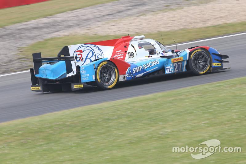 6. LMP2: #27 SMP Racing, BR01 - Nissan