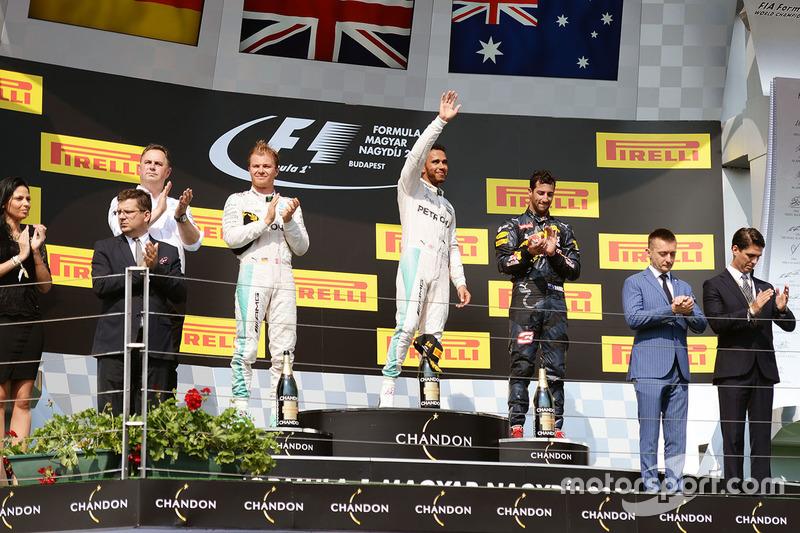 48 (2016) GP de Hungría Segundo lugar