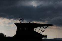 Mercedes-Tribüne